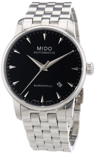 mido-mens-mido-m86004181-baroncelli-analog-display-swiss-automatic-silver-watch