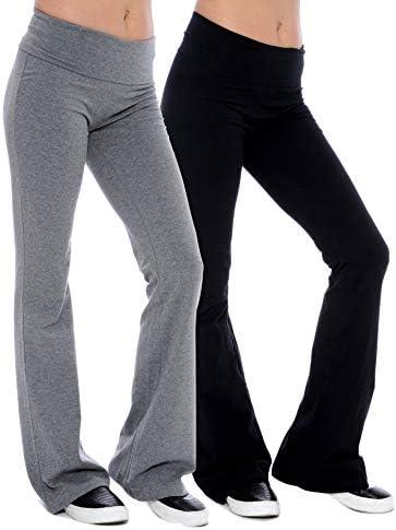 Plus Size Cotton Yoga Pants