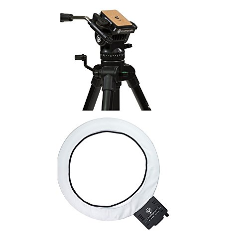 Diva Ring Light Super Nova 18'' Ring Light with Diva Ring Light Video Tripod by Diva Ring Light
