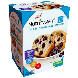 Nutrisystem D Blueberry Muffins, 4 Count