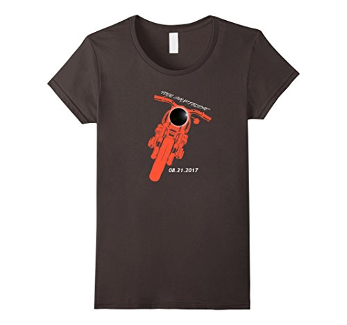 Womens Historic Aug 2017 Total Solar Eclipse Motorcycle t...