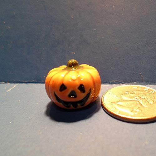 Bone China Miniatures The Bug House Pumpkin (Sm) B206 -
