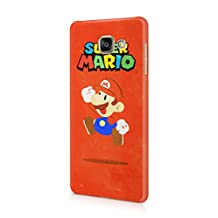 Super Mario Hard Plastic Snap-On Case Cover For Samsung Galaxy A5 2016