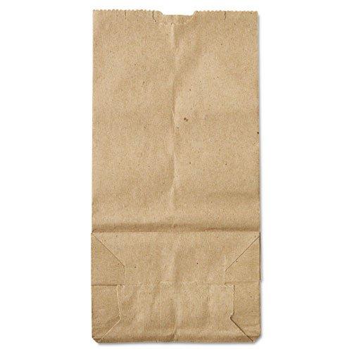General - 2# Paper Bag, 30lb Kraft, Brown, 4 5/16 x 2 7/16 x 7 7/8, 500/Pack GK2500 (DMi PK by General (Image #2)