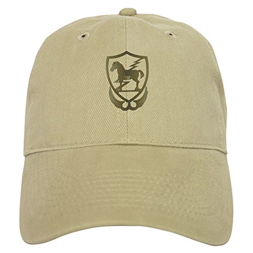 (CafePress 10Th Special Force Group (Airborne) Baseball Cap with Adjustable Closure, Unique Printed Baseball Hat Khaki)
