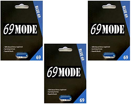 69 Mode Blue 69 3 Pills Male Sexual Performance Enhancer - Authorized Dealer
