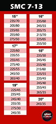 Catene da Neve OMOLOGATE SMC 7mm per GOMME 225//55 R 18 Gruppo 130