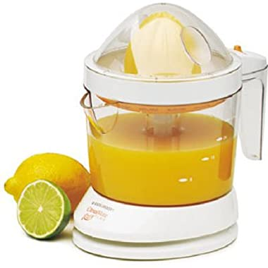BLACK+DECKER CJ625 30-Watt 34-Ounce Citrus Juicer, White