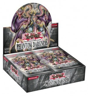 Yu-Gi-Oh Cards - Phantom Darkness - Booster Box (24 Packs) [Toy]