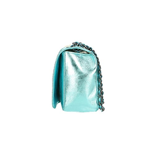 Chicca Borse Piel genuina bolso 28x18x10 Cm puerto pequeño