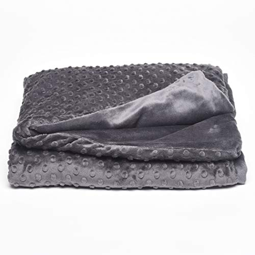 Cheap Creature Commforts Childs Weighted Blanket - Weights from 4lb - 10lb - 7 Colors to Choose from - Handmade in The USA - Safe Organic Filling with Removable Cover (Ash Grey 6lb 30x40) Black Friday & Cyber Monday 2019