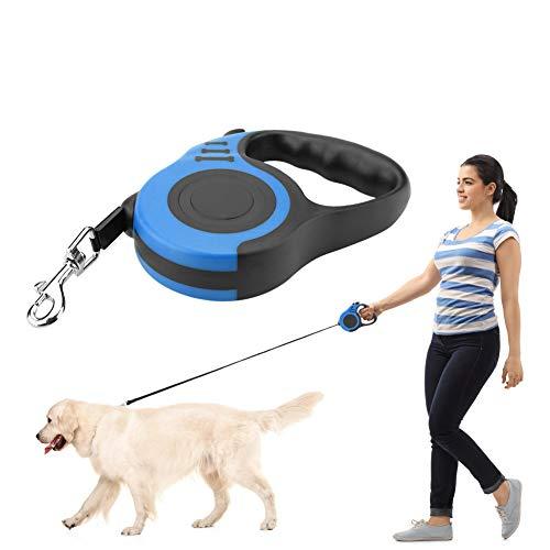 Cadena para Perros retráctil, Perro Que Camina Correa de Gato para Perros Cuerda 5M Mascota Cuerda de tracción Flexible automática Cuerda (2#)
