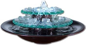 Water Wonders Moonlight Tabletop Water Fountain