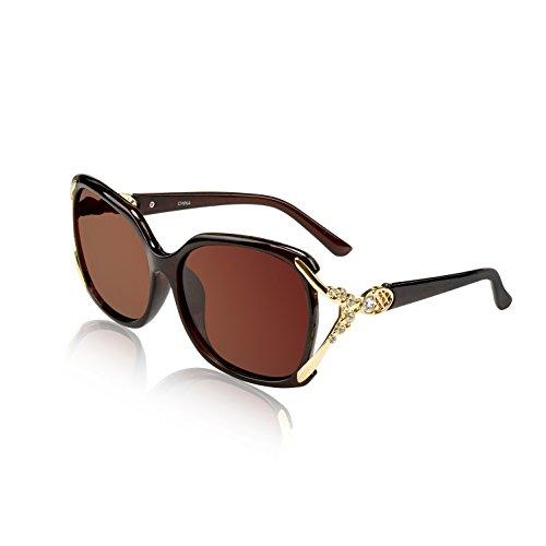 Rhinestone Sunglasses Fake Retro Trendy Vintage Stylish Black Plastic Dark ()