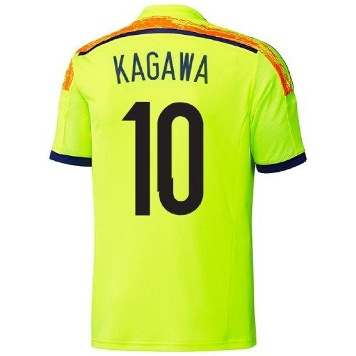 安西規制する十一ADIDAS KAGAWA #10 JAPAN AWAY JERSEY WORLD CUP 2014/サッカーユニフォーム 日本 アウェイ用 ワールドカップ2014 背番号10 香川