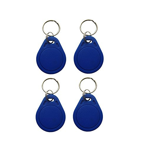20Pcs Contactless 13.56MHz Mifare Classic 1K IC Key Fobs