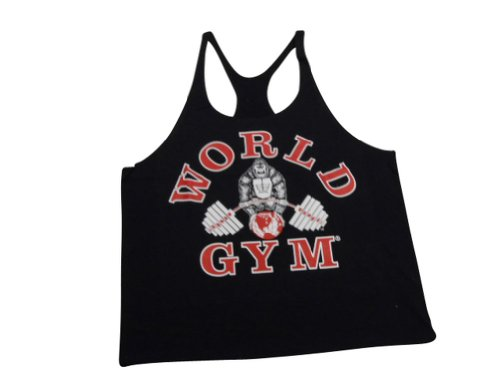 e1d084168b966 Amazon.com  World Gym Stringer Tank Tops- STT01  Clothing