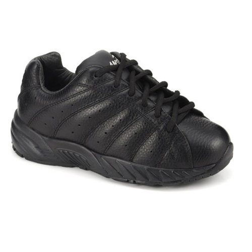 Apis Answer2 447-1 Women's Therapeutic Extra Depth Shoe: Black 10 X-Wide (3E) Lace by Apis Footwear