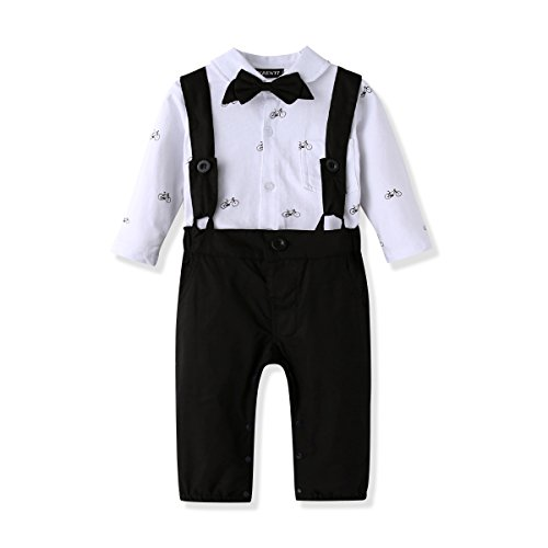 Ferenyi US Baby Boys Bowtie Gentleman Ro - Wearing A Black Suit Shopping Results