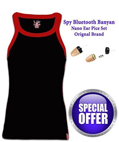 1096e615f3e Hightech Gadgets Spy Bluetooth Banyan Earpiece Set: Amazon.in: Electronics
