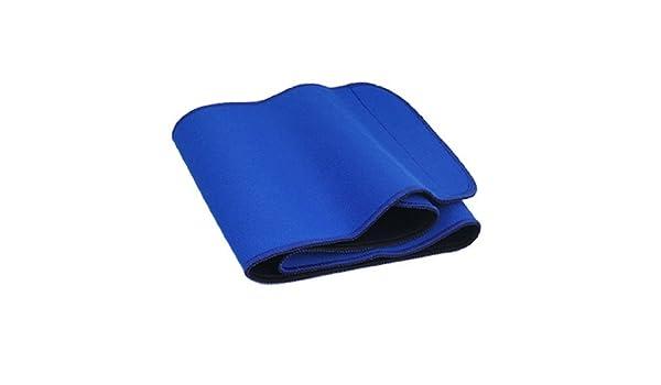 Amazon.com: eDealMax Señora gancho y bucle Azul Cintura Ajustable Envoltura Soporte: Health & Personal Care