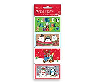 Novelty Gift Tags Pack (20 pc.)