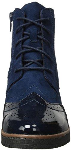 Softline 25265, Botas Militar para Mujer Azul (Navy)