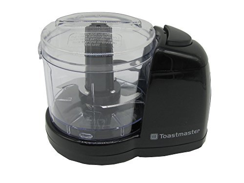 - Toastmaster 1 1/2 Cup Mini Chopper Model TM-67MC Flawlessly Chops Vegetables in a Matter of Seconds.