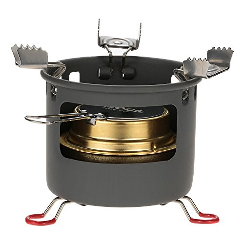 Alocs Outdoor Camping Stove Ultra-light Safe Spirit Alcohol Stove Furnace Good Quality Alcohol Stove Bracket Support Set alocs (CS-B13) For Sale
