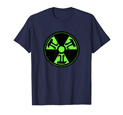 (Radioactive PI Superhero Gamma Funny Math Pi Day)