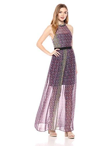 (BCBGeneration Women's Floral Maxi Dress, Rosebloom Combo,)