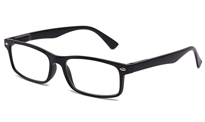 0b3abc37163 Image Unavailable. Image not available for. Colour  Newbee Fashion - IG Unisex  Translucent Simple Design No Logo Clear Lens Glasses