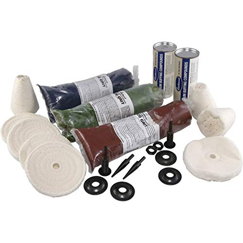 Eckler's Premier Quality Products 25-287899 Aluminum Wheel Buffing/Smoothing Kit by Premier Quality Products (Image #1)