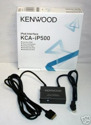 Kenwood KCA-iP500 iPod Interface