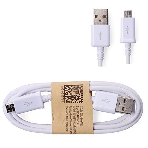 Samsung Handy USB Datenkabel - Ladekabel - ECB-DU4WE - für Samsung Mobiltelefone mit Micro USB Anschluss (Bulk Verpackung)