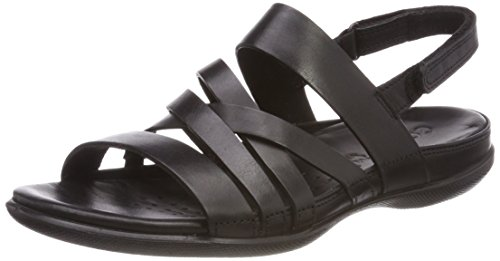 ECCO Women's Women's Flash Casual Sandal, Black, 39 Medium EU (8-8.5 (Ecco Flash)