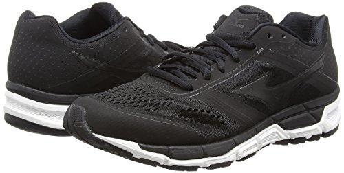 Pour noir Mizuno Blanc De Course Mx Hommes Chaussures Noir Synchro rXqzr8