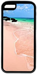 Beach View Theme Hard Back Cover Case For Iphone 5C