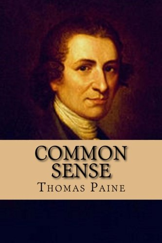 Book cover from Common Sense by Thomas Paine