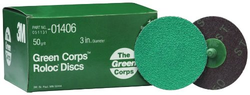 3M 01406 Green Corps Roloc Green Disc by 3M
