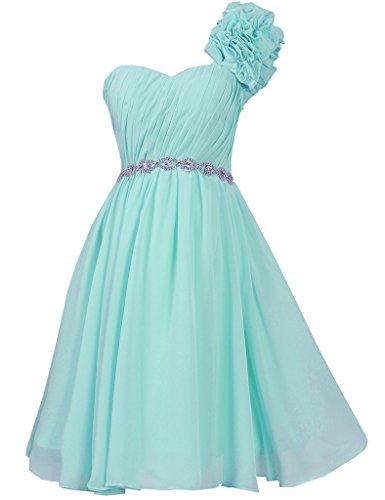 JAEDEN - Vestido - para mujer azul celeste