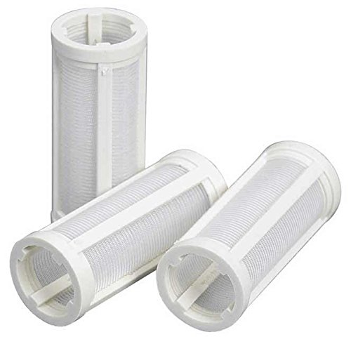 Moeller Replacement Inline Glass View Fuel Filter (3 Pack)