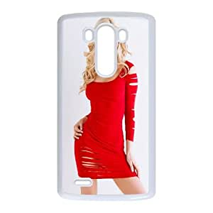 Olivia Paige Girl LG G3 Cell Phone Case White persent xxy002_6912761