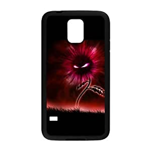 Custom Flower Design Plastic Case Protector For Samsung Galaxy S5