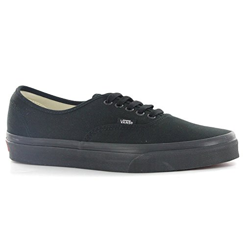 Vans Mens Authentic Core Classic Sneakers (10 D(M) US, Black/black) (Black 10 Vans Authentic Classic)