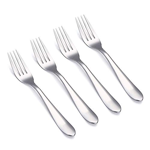 - VANRA 4-Piece Children Forks Set Stainless Steel Kids Dinner Forks Child Silver Cutlery Set 6.1-inch (4 forks)
