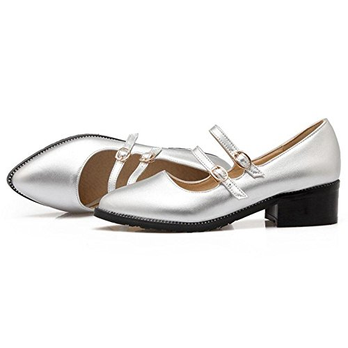 Silver Zanpa Court Women 1 Shoes Fashion 6qXpPzaqO