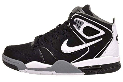 Zapato de los vuelos Air Falcon Baloncesto Stealth/White-Cl Grey-Ntrl Gry
