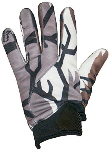 Predator Camo Men's Non Typical Bow Glove, Fall Gray, Medium