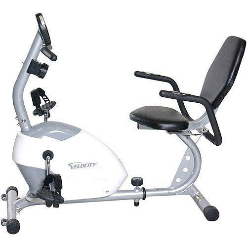 Exercise machine Recumbent Bike, 2-way flywheel, smooth ride